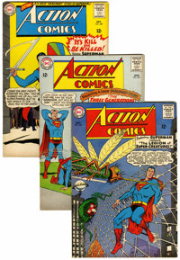 Action Comics Group (DC, 1965-66) Condition: Average FN.... (Total: 10 Comic Books)