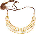 Estate Jewelry:Necklaces, Gold, Thread Necklace. ...
