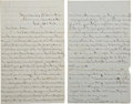Autographs:Military Figures, Union Officer's Letter by Benjamin Wright of the 10th Connecticut Volunteers....