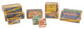 Military & Patriotic:Indian Wars, Lot of Assorted Collectible Ammunition in the Original Boxes....