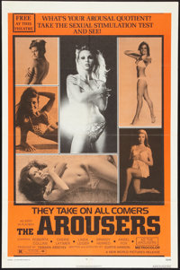 """The Arousers (New World, R-1973). One Sheet (27"""" X 41""""). Sexploitation"""