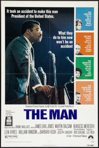 "The Man (Paramount, 1972). One Sheet (27"" X 41""). Black Films"