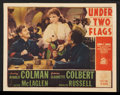 "Movie Posters:Adventure, Under Two Flags (20th Century Fox, 1936). Lobby Cards (4) (10"" X13""). Adventure.. ... (Total: 4 Items)"