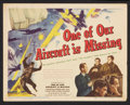 "Movie Posters:War, One of Our Aircraft Is Missing (United Artists, 1942). Title LobbyCard and Lobby Card (11"" X 14""). War.. ... (Total: 2 Items)"