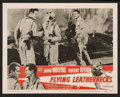 "Movie Posters:War, Flying Leathernecks Lot (RKO, R-1956). Lobby Cards (10) (11"" X14""). War.. ... (Total: 10 Items)"