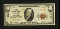 National Bank Notes:West Virginia, Elkins, WV - $10 1929 Ty. 1 Citizens NB Ch. # 12483. ...