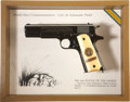 "Military & Patriotic:WWI, Colt ""2nd Battle of the Marne"" Commemorative M1911 in the IssuePresentation Case...."