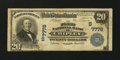 National Bank Notes:Florida, Chipley, FL - $20 1902 Plain Back Fr. 650 The First NB Ch. # (S)7778. ...