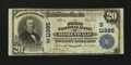 National Bank Notes:Tennessee, Hohenwald, TN - $20 1902 Plain Back Fr. 659 The First NB Ch. #(S)11985. ...