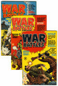 Golden Age (1938-1955):War, War Battles #1-7 and 9 File Copies Group (Harvey, 1952-53)Condition: Average VF.... (Total: 8 )