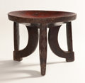 African, AN AFRICAN TABLE. Ethiopia. 15 x 19 inches (38.1 x 48.3 cm). ...