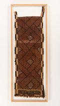 Other, A KUBA RAFFIA CLOTH. Democratic Republic of Congo. 60 x 22 inches (152.4 x 55.9 cm). ...
