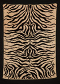 Rugs & Textiles:Carpets, In the style of JEAN ROYÈRE. A French Rug, circa 1940. 82 x 57inches (208.3 x 144.8 cm). ...