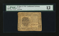 Continental Currency May 9, 1776 $7 PMG Fine 12