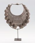 Asian:Chinese, A CHINESE SILVER NECKLACE. Guizhou, circa 1920. 16 inches (40.6 cm)diameter. ...