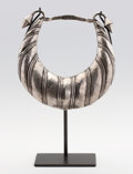 Asian:Chinese, A CHINESE SILVER NECKLACE. Guiznou, circa 1920. 11 inches (27.9 cm)diameter. ...