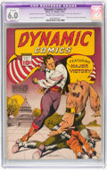 Golden Age (1938-1955):Adventure, Dynamic Comics #1 (Chesler, 1941) CGC Apparent FN 6.0 Slight (P) Cream to off-white pages....
