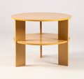 Furniture , GERALD SUMMERS. A Wood Coffee Table. 20 x 25 inches (50.8 x 63.5 cm). ...