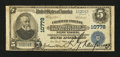 National Bank Notes:New York, New York, NY - $5 1902 Plain Back Fr. 606 Chatham Phenix NB &TC Ch. # 10778. ...