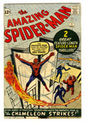 Silver Age (1956-1969):Superhero, The Amazing Spider-Man #1 (Marvel, 1963) Condition: GD/VG....