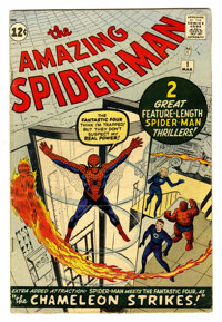 The Amazing Spider-Man #1 (Marvel, 1963) Condition: GD/VG
