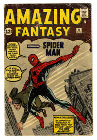 Amazing Fantasy #15 (Marvel, 1962) Condition: FR/GD