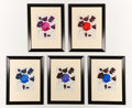 Fine Art - Work on Paper:Drawing, BIANCHINI FERRIER. A Set of Five Fabric Designs, circa 1930-1940.25 x 19-1/4 inches (63.5 x 48.9 cm). ...