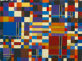 Fine Art - Painting, European:Contemporary   (1950 to present)  , AUGUSTE HARZIC. Abstract Composition, September 1981. Oil on wood . Signed and dated. 14 x 19 inches (35.6 x 48.3 cm). ...