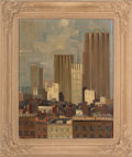 Fine Art - Painting, European:Contemporary   (1950 to present)  , STAFFORD BOURNE. New World Symphony no. 1, circa 1956. Oilon canvas . Signed and dated. 21-1/2 x 26 inches (54.6 x 66.0...