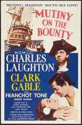"Movie Posters:Adventure, Mutiny on the Bounty (MGM, R-1957). One Sheet (27"" X 41"").Adventure.. ..."