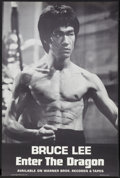 "Movie Posters:Action, Enter the Dragon (Warner Brothers, 1973). Soundtrack Poster (18.25""X 27.5""). Action.. ..."
