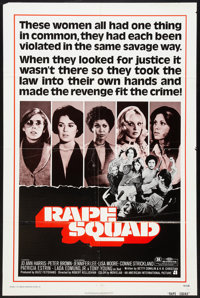 """Act of Vengeance (American International, 1974). One Sheet (27"""" X 41"""") Also Known As Rape Squad. Crime"""