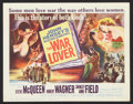 """Movie Posters:War, The War Lover (Columbia, 1962). Title Lobby Card and Lobby Card(11"""" X 14""""). War.. ... (Total: 2 Items)"""