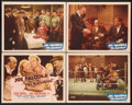 "Movie Posters:Sports, Joe Palooka in The Knockout (Monogram, 1947). Title Lobby Card and Lobby Cards (3) (11"" X 14""). Sports.. ... (Total: 4 Items)"