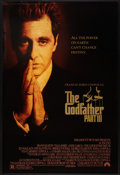 """Movie Posters:Crime, The Godfather Part III Lot (Paramount, 1990). One Sheets (2) (27"""" X 40"""") DS and SS. Crime.. ... (Total: 2 Items)"""