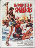 "Movie Posters:Adventure, The Revenge of Spartacus (Paramount, 1965). Italian 2 - Foglio (39""X 55""). Adventure.. ..."