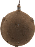 Military & Patriotic:Civil War, Very Fine Civil War U.S. M1858 Smooth Side Canteen. ...