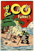 Golden Age (1938-1955):Funny Animal, Zoo Funnies #2 (Charlton, 1945) Condition: VF-....