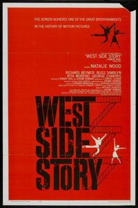"""West Side Story (United Artists, 1961). One Sheet (27"""" X 41""""). Musical"""