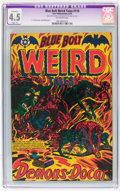 Golden Age (1938-1955):Horror, Blue Bolt #119 (Star Publications, 1953) CGC Apparent VG+ 4.5Slight (P) Off-white pages....