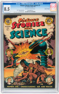 Golden Age (1938-1955):Non-Fiction, Picture Stories from Science #1 Gaines File pedigree 5/11 (EC,1947) CGC VF+ 8.5 Off-white to white pages....