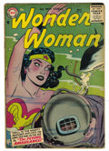 Golden Age (1938-1955):Science Fiction, Wonder Woman #83 (DC, 1956) Condition: VG....