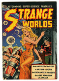 Golden Age (1938-1955):Science Fiction, Strange Worlds #4 (Avon, 1951) Condition: FN-....
