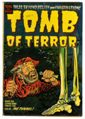 Golden Age (1938-1955):Horror, Tomb of Terror #9 (Harvey, 1953) Condition: FN....