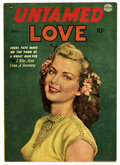 Golden Age (1938-1955):Romance, Untamed Love #2 (Quality, 1950) Condition: FN....