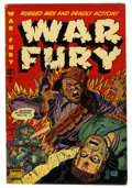 Golden Age (1938-1955):War, War Fury #1 (Comic Media, 1952) Condition: FN....