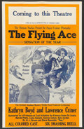 "Movie Posters:Black Films, The Flying Ace (Norman, 1926). Pressbook (14"" X 22"", Folded-Out).Black Films.. ..."