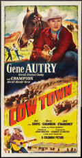 "Movie Posters:Western, Cow Town (Columbia, 1950). Three Sheet (41"" X 81""). Western.. ..."