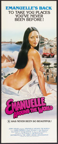 """Movie Posters:Adult, Emanuelle Around the World (Jerry Gross, 1980). Insert (14"""" X 36""""). Adult.. ..."""