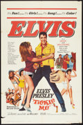 "Movie Posters:Elvis Presley, Tickle Me (Allied Artists, 1965). One Sheet (27"" X 41""). ElvisPresley.. ..."